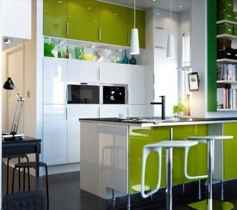 Интериор на малка кухня
