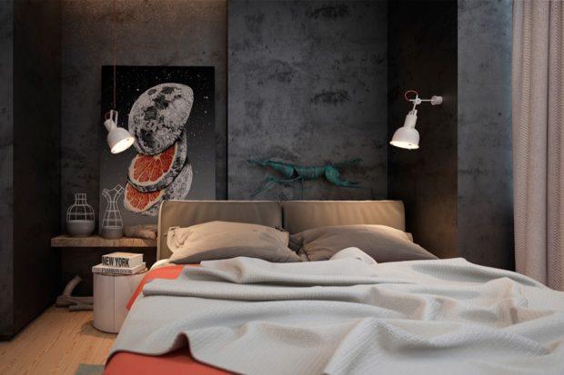 Текстилът използван в интериора на спалня